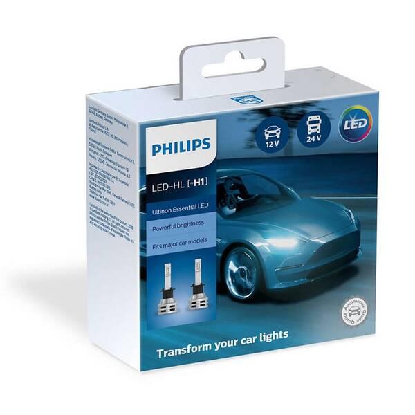 Autožiarovka Philips LED H1 Ultinon Essential 2 ks (11258UE2X2)