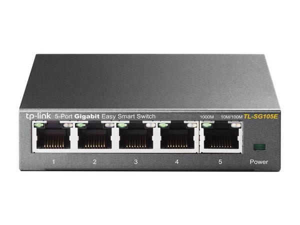 Switch TP-Link TL-SG105E (TL-SG105E) šedý