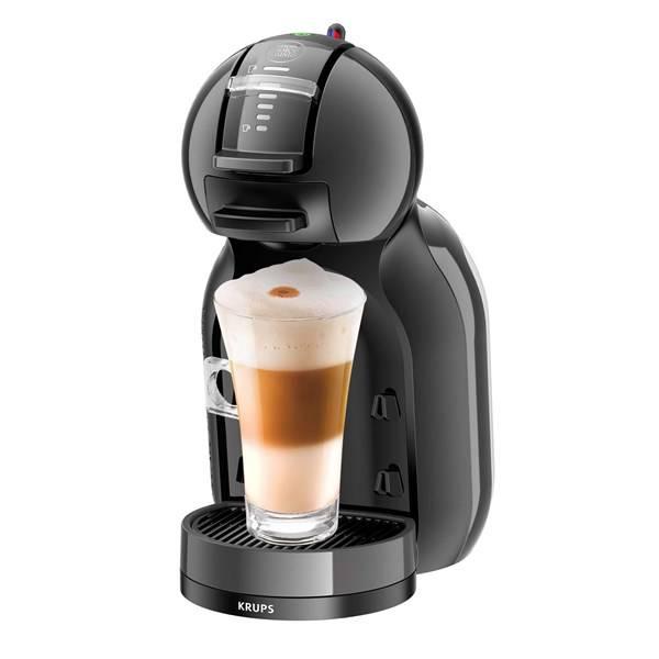 Espresso Krups NESCAFÉ Dolce Gusto Mini Me KP1208CS čierne/sivé