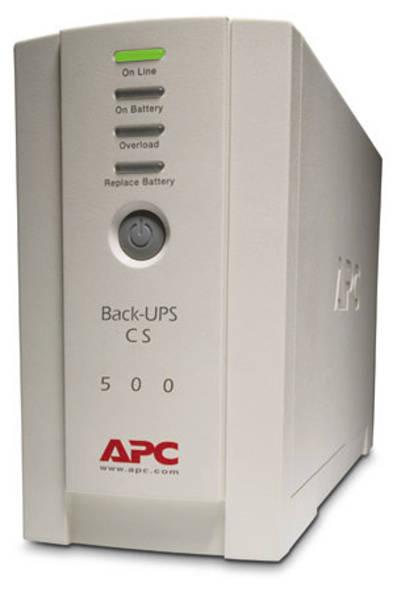 Záložní zdroj APC Back-UPS CS 500I (BK500EI)