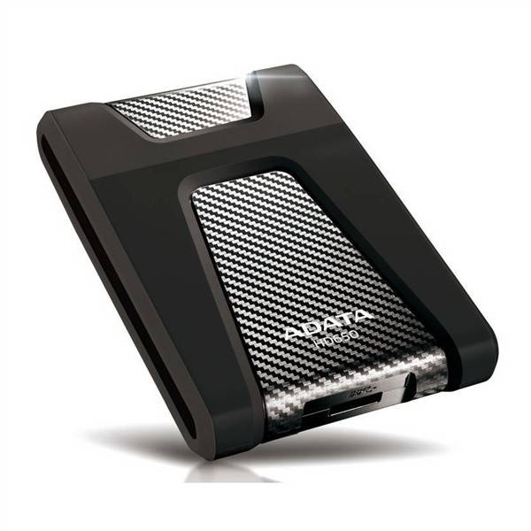 Externý pevný disk ADATA HD650 1TB (AHD650-1TU3-CBK) čierny