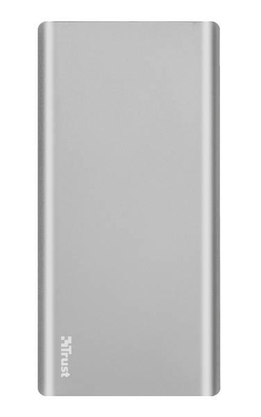 Powerbank Trust Omni Thin 10000mAh, USB-C, QC 3.0 (22701) stříbrná