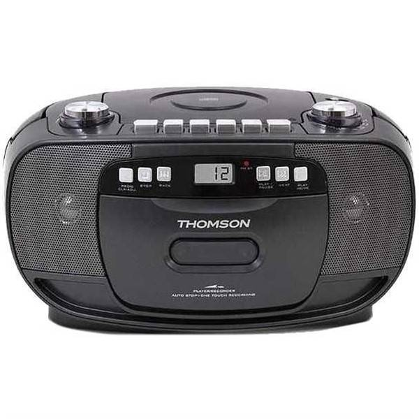 Radiomagnetofon s CD Thomson RK200CD černý (vrácené zboží 8800171709)