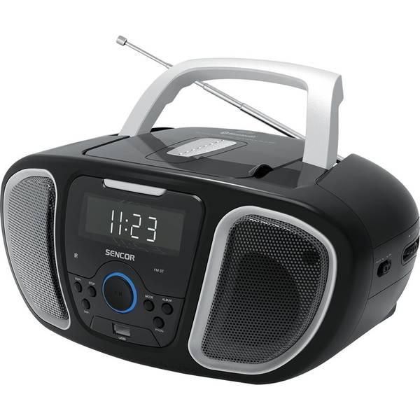 Radiopřijímač s CD Sencor SPT 3800 černý