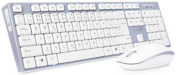 Klávesnice s myší Connect IT CKM-7510-CS, CZ/SK (CKM-7510-CS) šedá