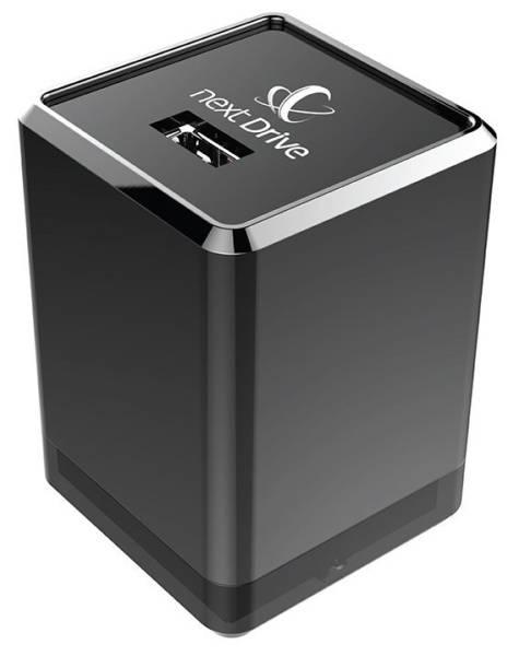 Datové uložiště (NAS) NextDrive Plug 1GHz, 1xUSB 2.0 (NEX0001) černá