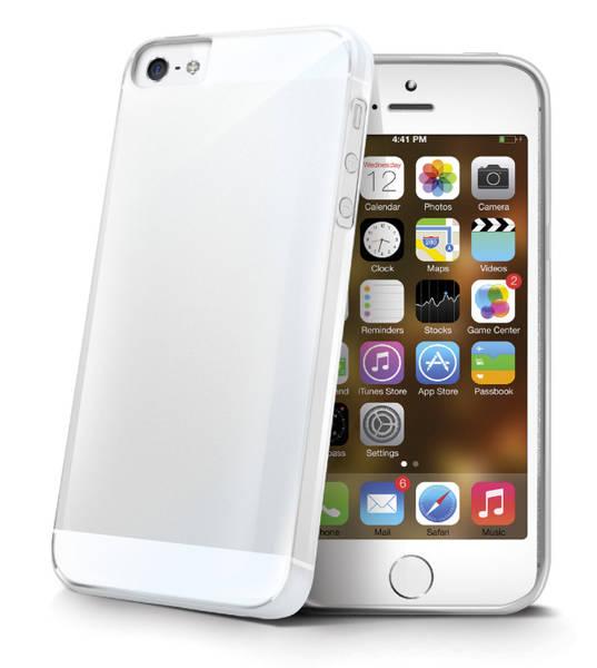 Kryt na mobil Celly Gelskin pro Apple iPhone 5/5s/SE (GELSKIN185) priehľadný