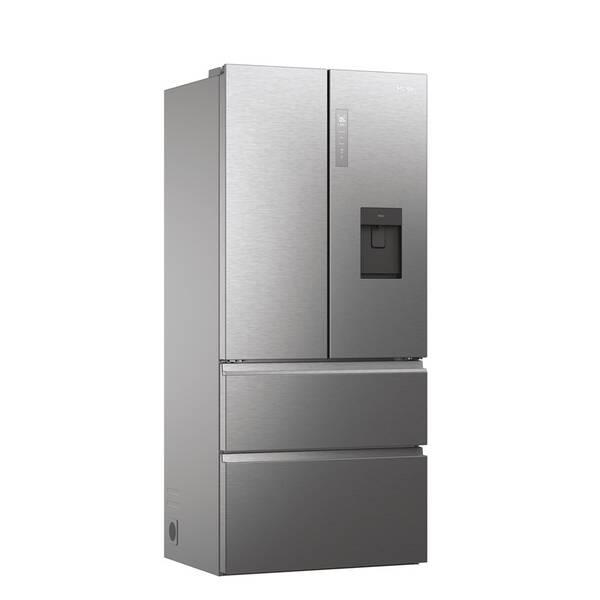 Kombinácia chladničky s mrazničkou Haier HFW7819EWMP strieborná