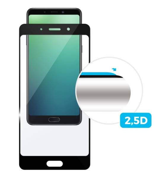 Tvrzené sklo FIXED Full-Cover na Nokia 7 (FIXGF-260-033BK) černé (poškozený obal 8800188948)