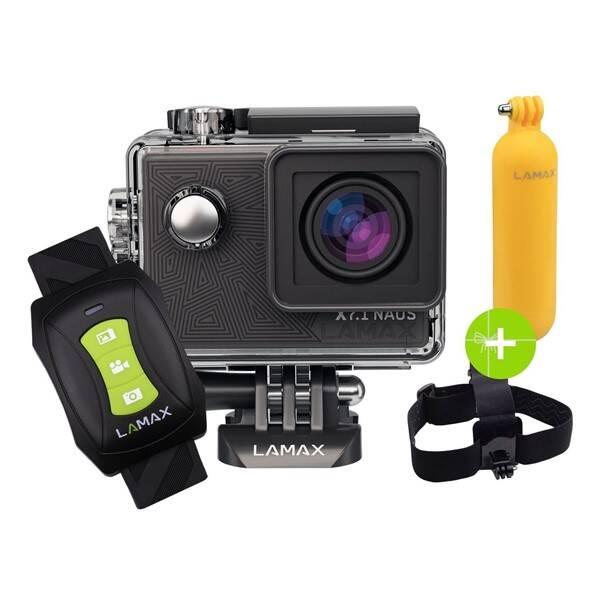 Outdoorová kamera LAMAX X7.1 Naos + dárek čierna