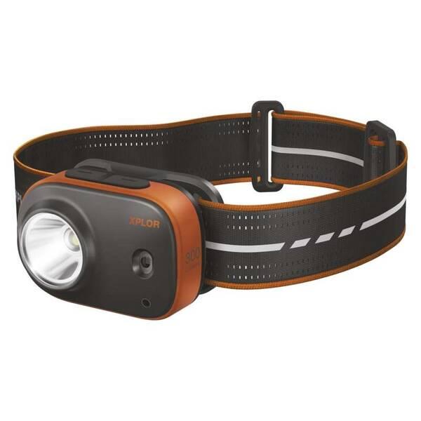 Čelovka GP Xplor PHR16, 300 lm (1451085660) čierna/oranžová