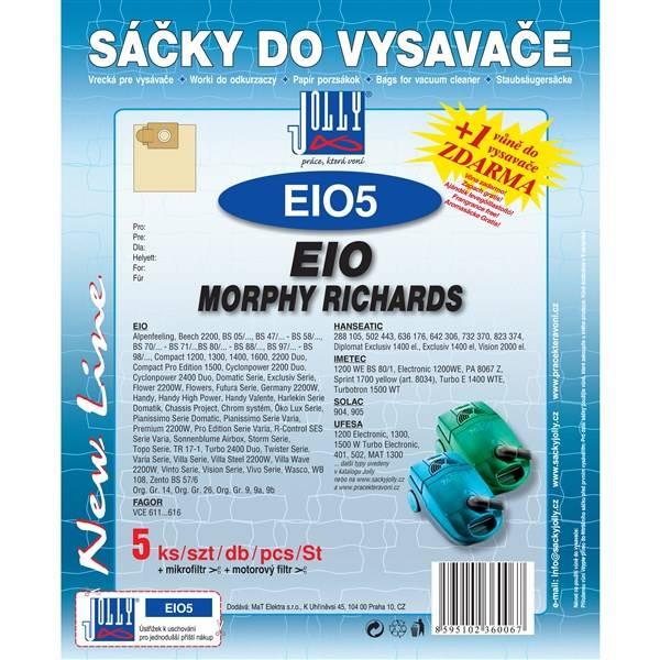 Sáčky pre vysávače Jolly EIO 5