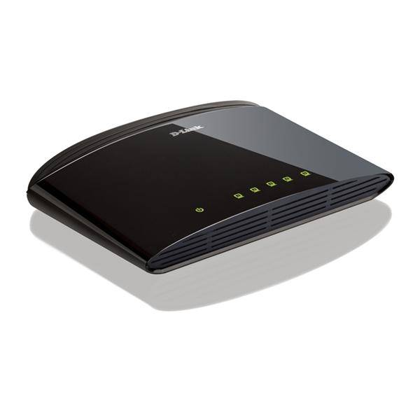 Switch D-Link DES-1005D (DES-1005D) stříbrný