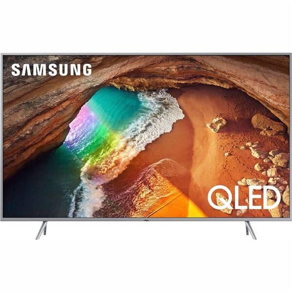 Televize Samsung QE55Q67R stříbrná