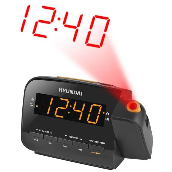 Radiobudík Hyundai RAC 481 PLLBO černý/oranžový