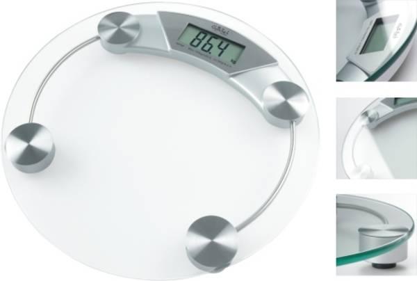 Osobní váha Gallet Colombes PEP 987 stříbrná/sklo