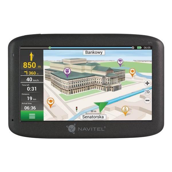 Navigační systém GPS Navitel E500 (C2047023) černá (vrácené zboží 8800324067)