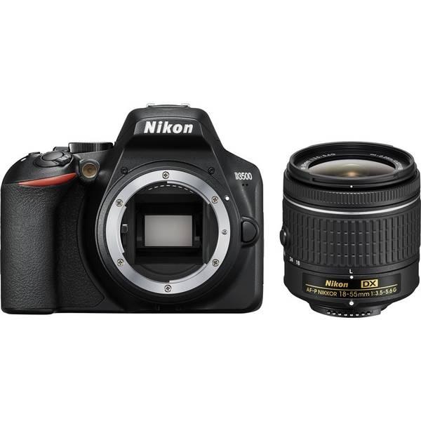 Digitální fotoaparát Nikon D3500 + 18-55 AF-P (VBA550K002) černý
