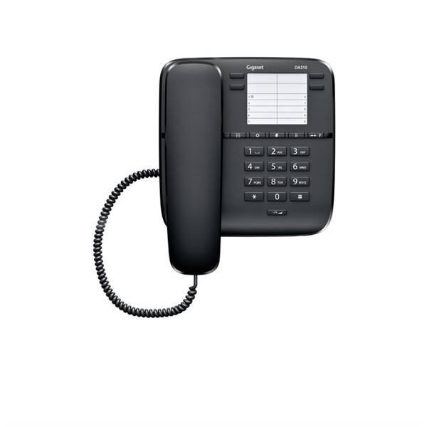 Domácí telefon Siemens Gigaset DA310 (S30054-S6528-R601) černý