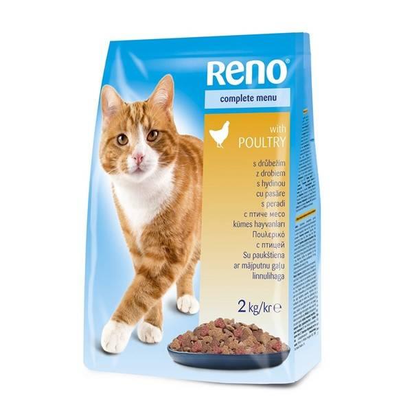 Granule Reno pro kočku s drůbežím 2 kg