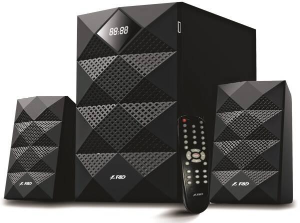 Reproduktory Fenda F&D A180X 2.1, bluetooth, rádio, USB, dálkové ovládání (A180X) černé (vrácené zboží 8801137511)