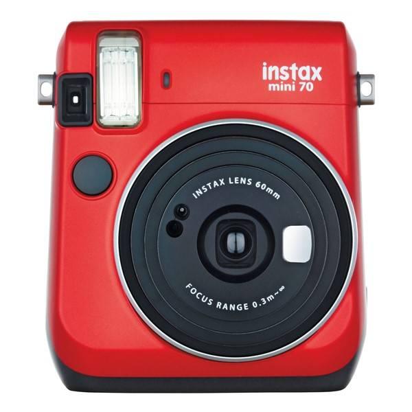 Digitální fotoaparát Fujifilm Instax mini 70 červený