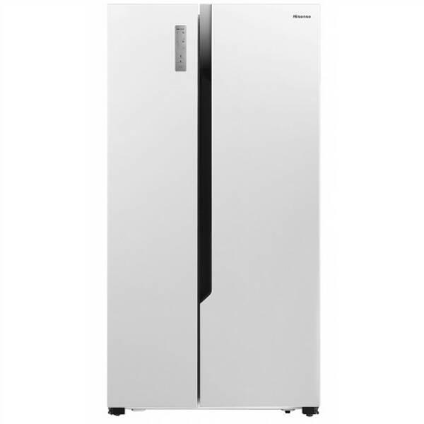 Americká lednice Hisense RS670N4HW1 bílá