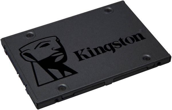 SSD Kingston A400 480GB (SA400S37/480G) šedý