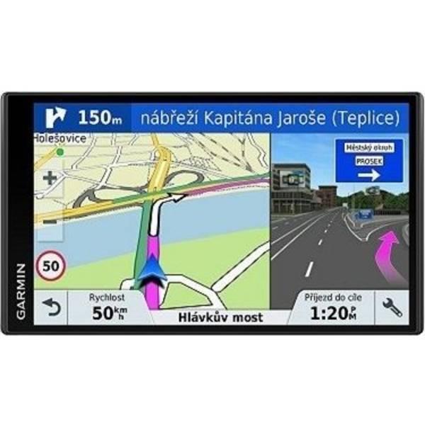Navigační systém GPS Garmin DriveSmart 61S Lifetime Europe45 (010-01681-17) černá