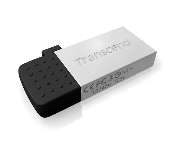 USB Flash Transcend JetFlash 380S 32GB (TS32GJF380S) stříbrný