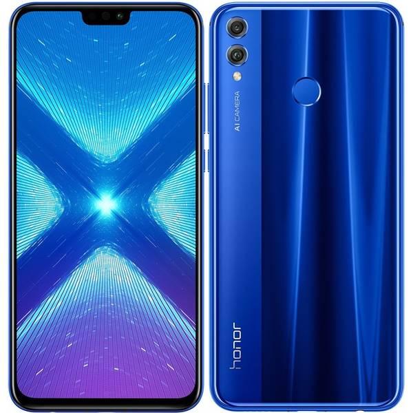 Mobilní telefon Honor 8X 64 GB Dual SIM (51093VPL) modrý