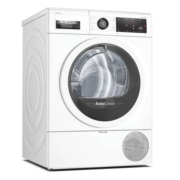 Sušička prádla Bosch Serie   8 WTX87MW0CS bílá (vrácené zboží 8800412694)