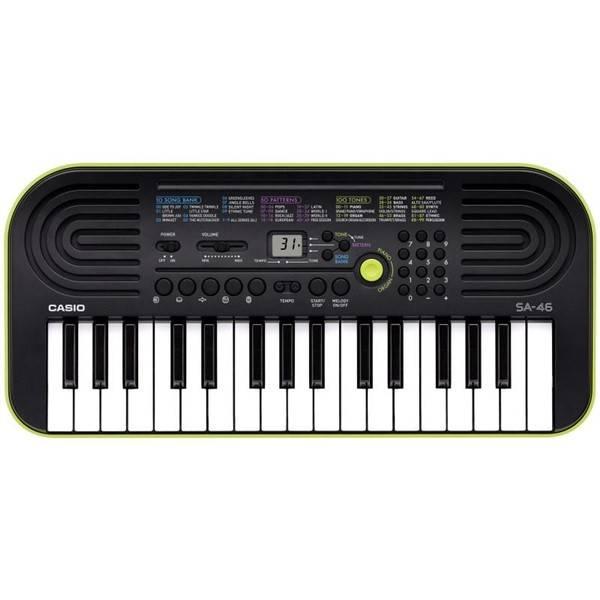 Elektronické klávesy Casio SA 47 (SA 47) (vrácené zboží 8800225640)