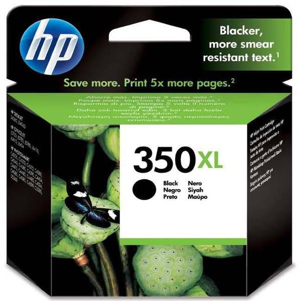 Inkoustová náplň HP Officejet 350XL, 1000 stran, (CB336EE) černá