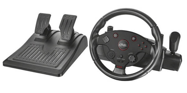 Volant Trust GXT 288 pro PS3, PC + pedály (20293) (vrácené zboží 8800363314)