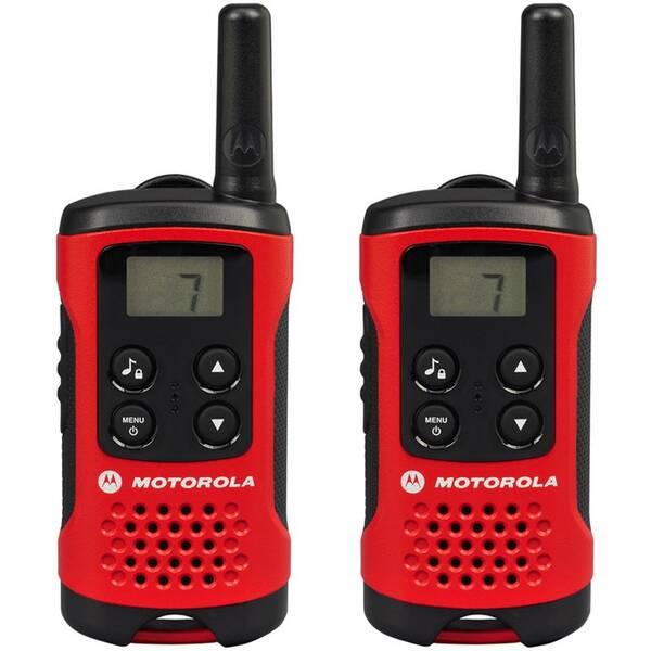 Vysílačky Motorola TLKR T40 (P14MAA03A1BB) červené