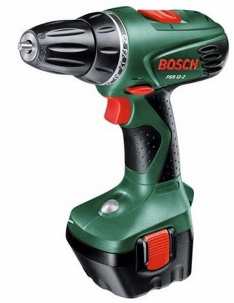 Aku vrtačka Bosch PSR 12-2 (rozbalené zboží 4300052199)