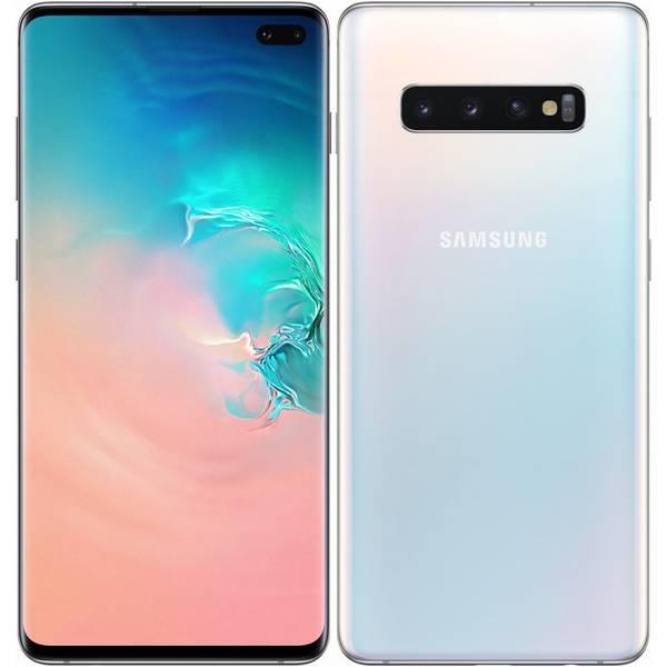 Mobilní telefon Samsung Galaxy S10+ 128 GB (SM-G975FZWDXEZ) bílý (vrácené zboží 8800202813)