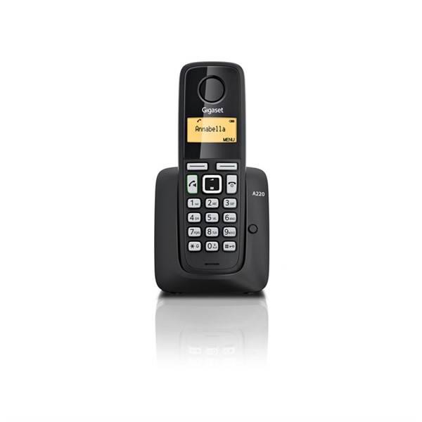 Domácí telefon Siemens Gigaset A220 (S30852-H2411-R601) černý