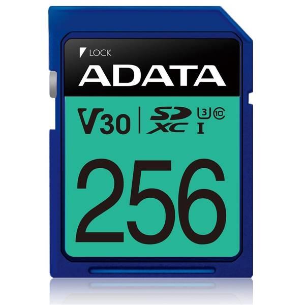 Paměťová karta ADATA Premier Pro SDXC 256GB UHS-I U3 (95R/60W) (ASDX256GUI3V30S-R)