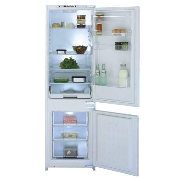 Kombinácia chladničky s mrazničkou Beko CBI 7702 biela