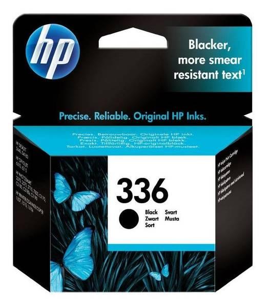 Inkoustová náplň HP 336, 5ml, 210 stran (C9362EE) černá