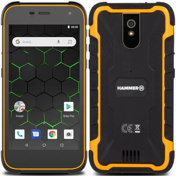Mobilní telefon myPhone Hammer Active 2 (TELMYAHACTIVE23GOR) oranžový
