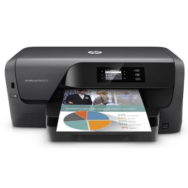 Tlačiareň atramentová HP Officejet Pro 8210 (D9L63A#A81) čierna