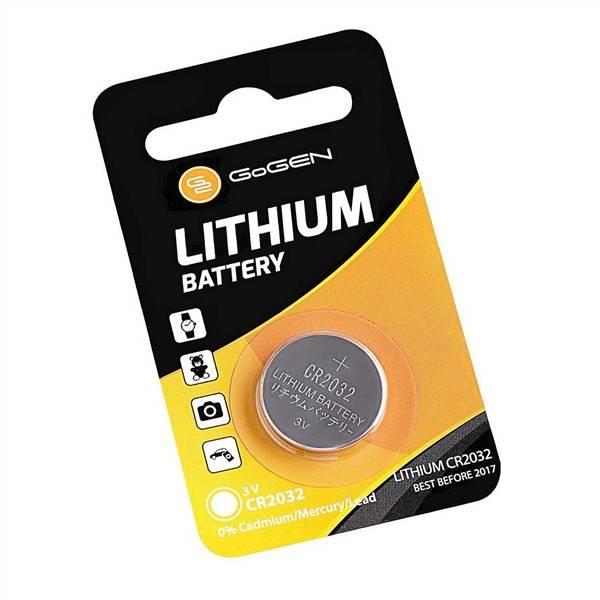 Baterie lithiová GoGEN CR2032, blistr 1ks (GOGCR2032LITHIUM1)