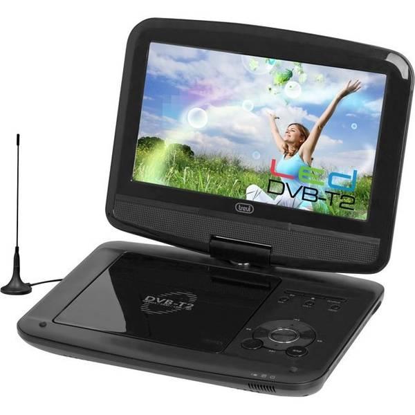DVD přehrávač Trevi DVBX 1413 BK, přenosný černý (vrácené zboží 8800100084)