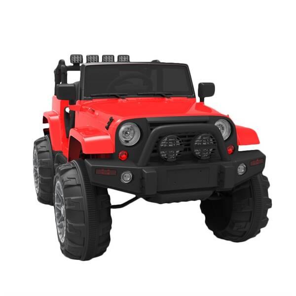 Elektrické autíčko MaDe Jeep červené