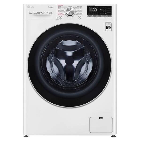 Pračka se sušičkou LG F4DV710H1 bílá