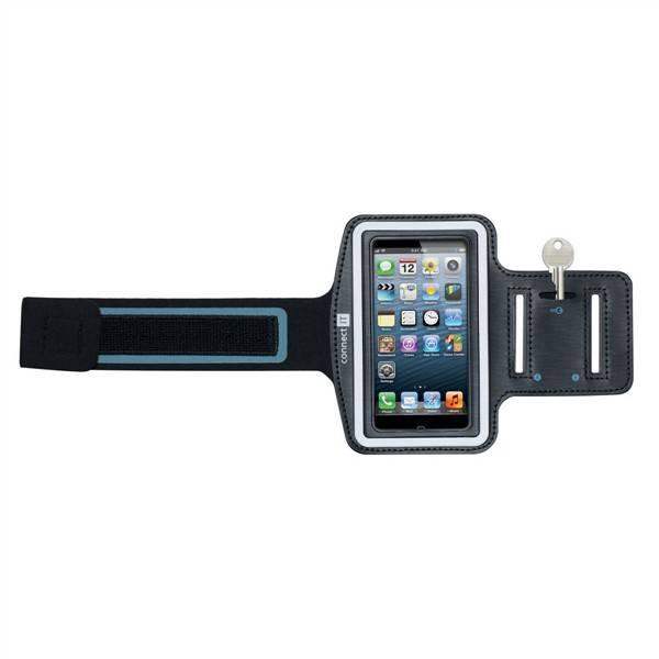 Pouzdro na mobil sportovní Connect IT M4 pro iPhone 5/5s/SE (CI-212) černé