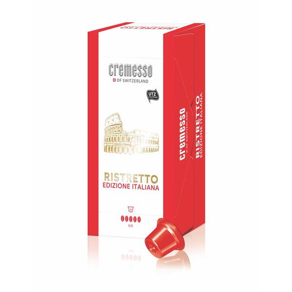 Kapsle pro espressa Cremesso Caffé Edice Italiana Ristretto 16 ks